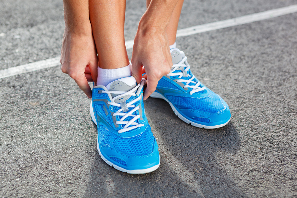 Before fitting your shoes to run on a track, seek sports physicals for better performance and optimal health.